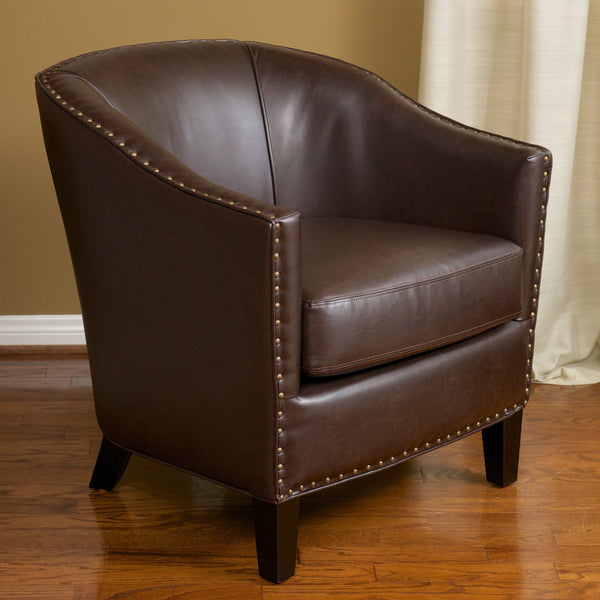 Mid Century Tub Style Club Chair - NH607812