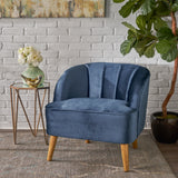 Modern New Velvet Accent Chair - NH005303