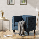 Modern Tufted Fabric Armchair - NH449303