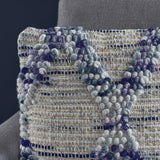 Handcrafted Boho Tufted Fabric Pillow - NH636103