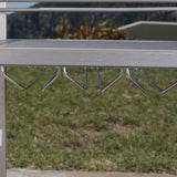 Bay Outdoor Aluminum Bar Cart with Wheels - NH863003