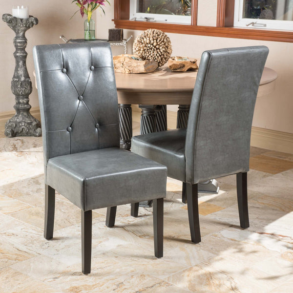 Bonded Leather Dining Chair - NH915412