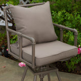 Outdoor Adjustable Height Swivel Bar Stool - NH242832