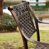 Outdoor Cast Aluminum Dining Chairs (Set of 2) - NH259492