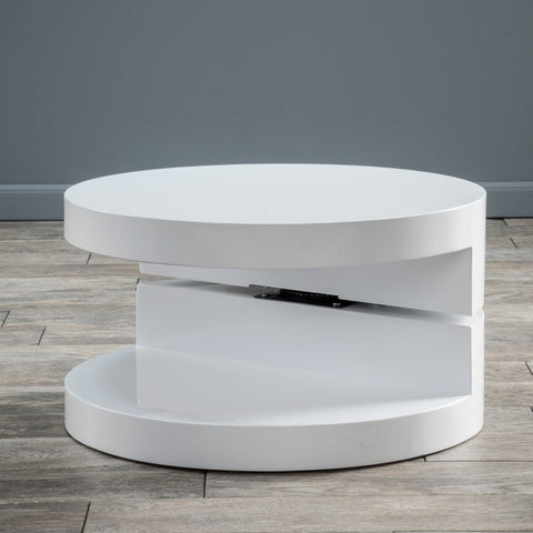 Small Circular Mod Swivel Coffee Table - NH563592