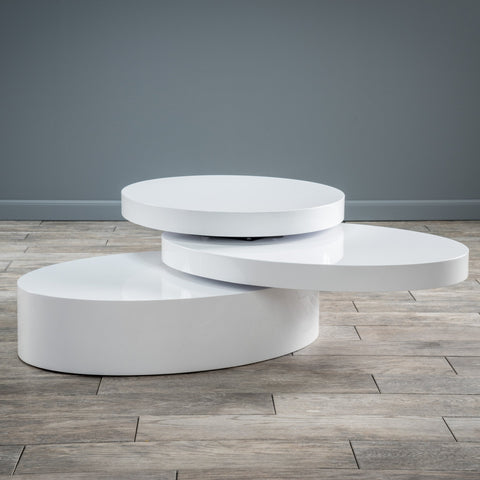 Oval Mod Swivel Coffee Table - NH763592