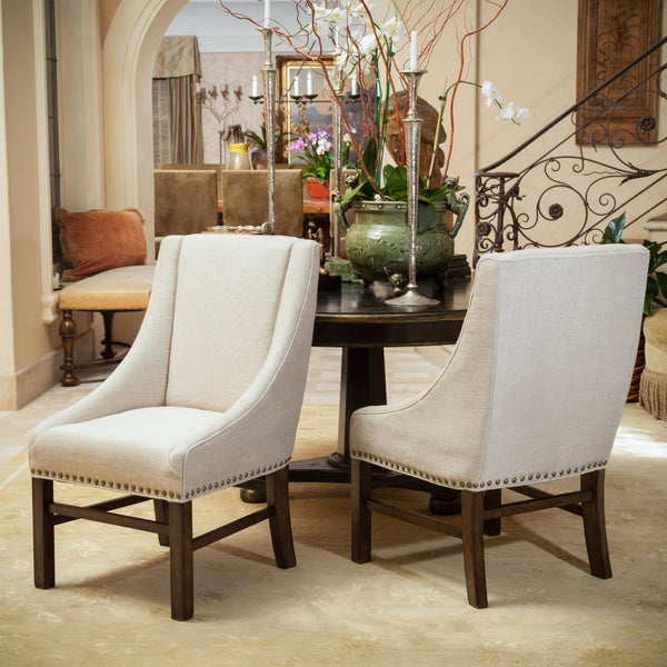 Fabric Upholstered Dining Chairs (Set of 2) - NH773592