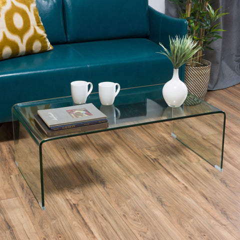 Glass Rectangle Coffee Table - NH796692