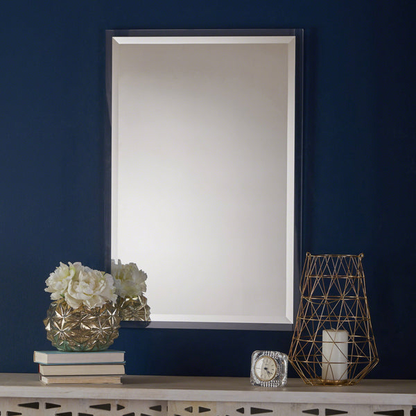 Rectangular Wall Mirror with Clear Acrylic Frame - NH625303