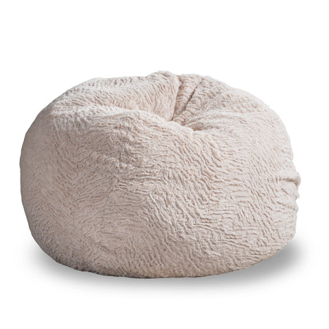 3 Ft Shag Fur Beanbag - NH272592