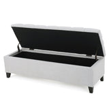 Tufted Storage Ottoman Bench - NH441992