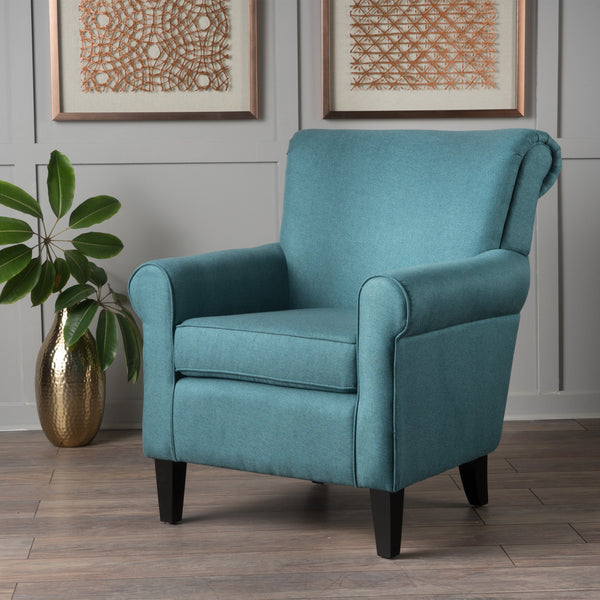 Plush Comfortable Fabric Club Chair - NH361003