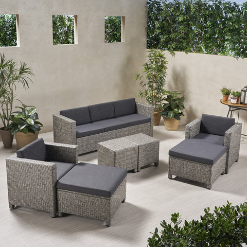 5-7-Seater Outdoor Sofa Set - NH839903