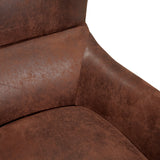 Microfiber High Back Wingback Club Chair - NH674032