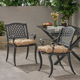 Outdoor Dining Chair with Cushion (Set of 2) - NH811013