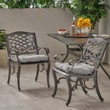 Outdoor Dining Chair with Cushion (Set of 2) - NH011013