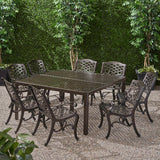 Outdoor Aluminum 8 Seater Dining Set - NH883903