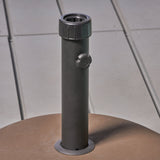Outdoor 55 lbs Circular Concrete Umbrella Base - NH323932