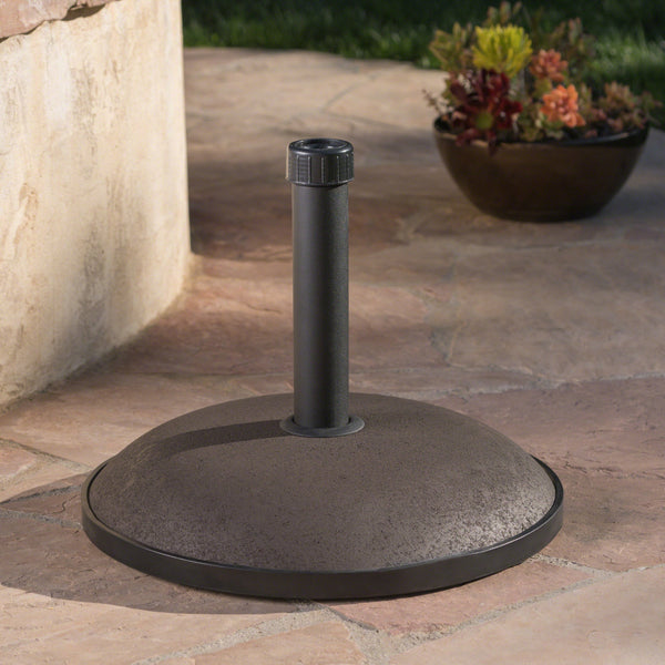 Outdoor 66 lbs Circular Concrete Umbrella Base - NH133932