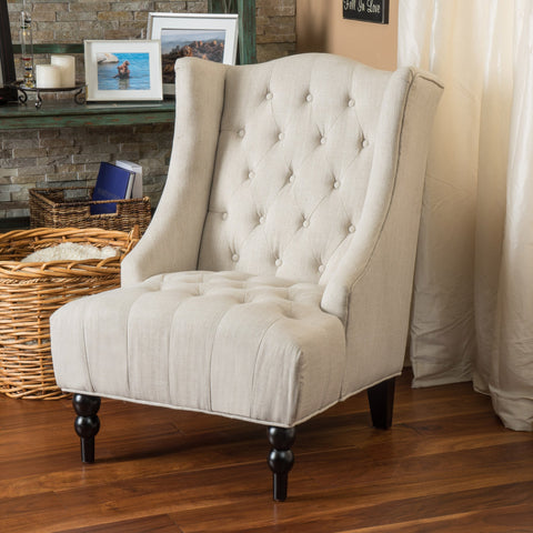 Fabric High Back Wingback  Accent Chair - NH678992