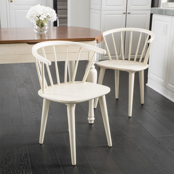 Countryside Rounded Back Spindle Dining Chair (Set of 2) - NH230692