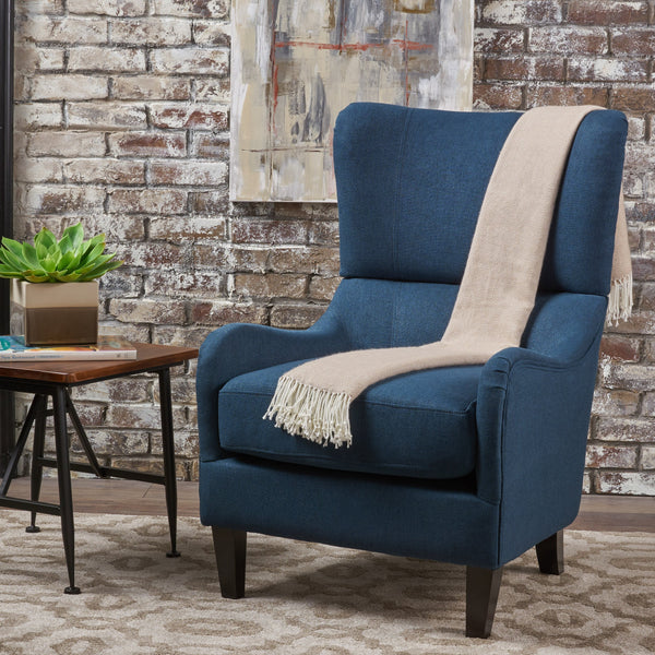 Fabric High Back Wingback Armchair - NH252103