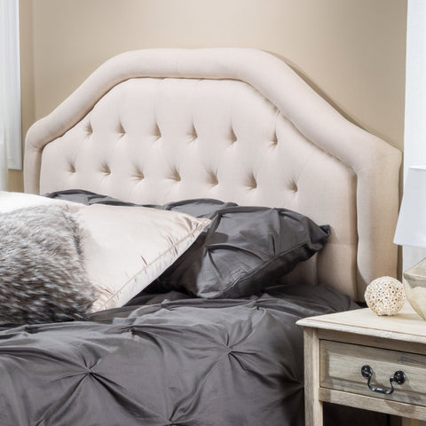 Lisa Contemporary King/Cal King Beige Headboard