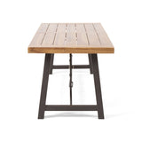 Modern Industrial Dining Table - NH852213