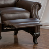 Leather Recliner Club Chair - NH106692