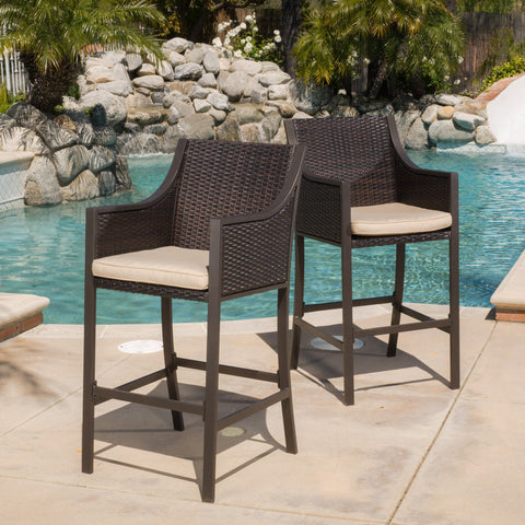 Brown 30-Inch Barstool (Set of 2) - NH000792