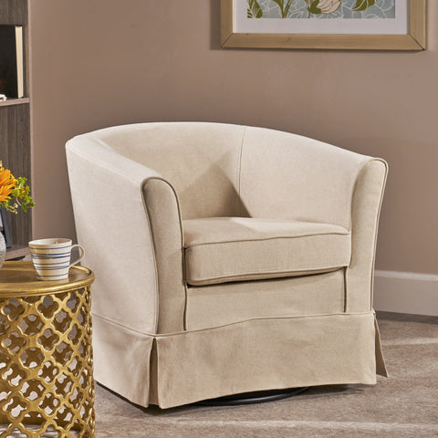 Tub Design Swivel Club Chair - NH178892