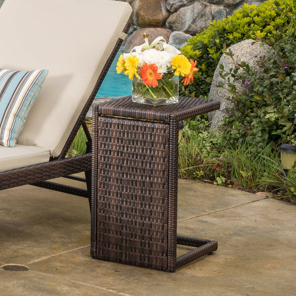 Outdoor Wicker Side Table - NH300792