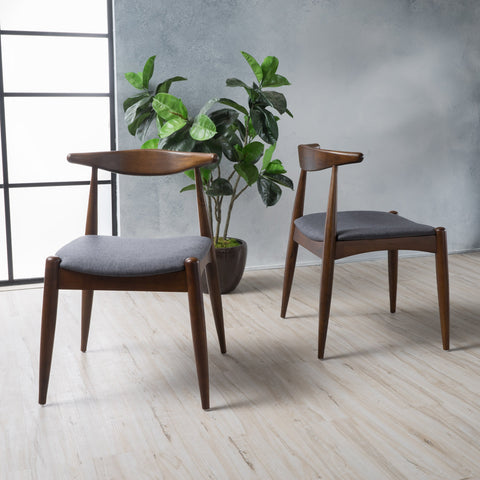 Mid Century Modern Dining Chairs (Set of 2) - NH500003