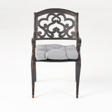 Outdoor Dining Chair with Cushion (Set of 2) - NH061013
