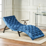Tufted New Velvet Chaise Lounge - NH302203