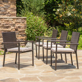 Outdoor Dining Chairs with Water Resistant Cushions (Set of 4) - NH528003