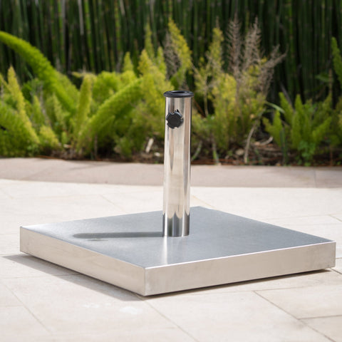 66lbs Stainless Steel Square Umbrella Base - NH514003