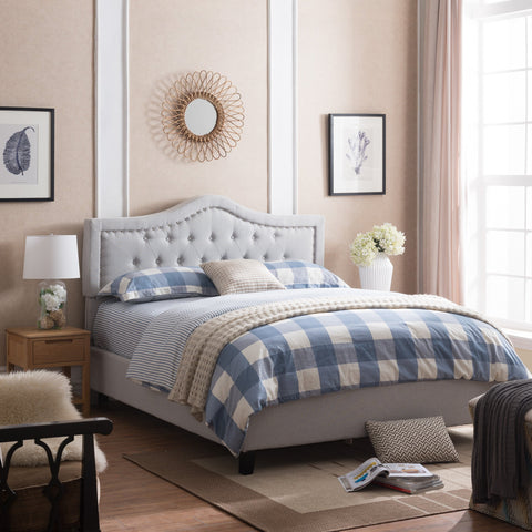 Fully Upholstered Queen Bed Set - NH011003