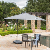 Outdoor Water Resistant Canopy w/ Plastic Base Aluminum Pole - NH654103