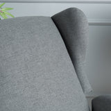 Wingback Fabric Recliner - NH006003