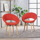 Fabric Modern Dining Chair (Set of 2) - NH002103