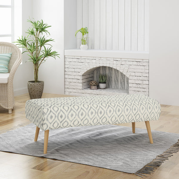 Boho Fabric Bench - NH785403