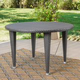 Outdoor Round Wicker Dining Table - NH731103