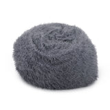 5 Ft Long Faux Fur Bean Bag - NH278113