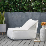 3 Ft Outdoor Contemporary Water Resistant Fabric Bean Bag Chair - NH180113