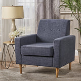 Mid Century Modern Fabric Club Chair - NH235203
