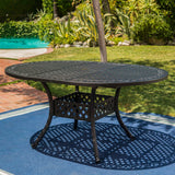 Outdoor Expandable Aluminum Dining Table - NH372103
