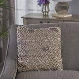 Handcrafted Boho Fabric Pillow - NH846103