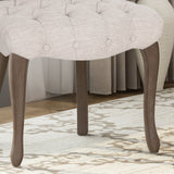 Tufted Dining Chair with Cabriole Legs (Set of 2) - NH922903