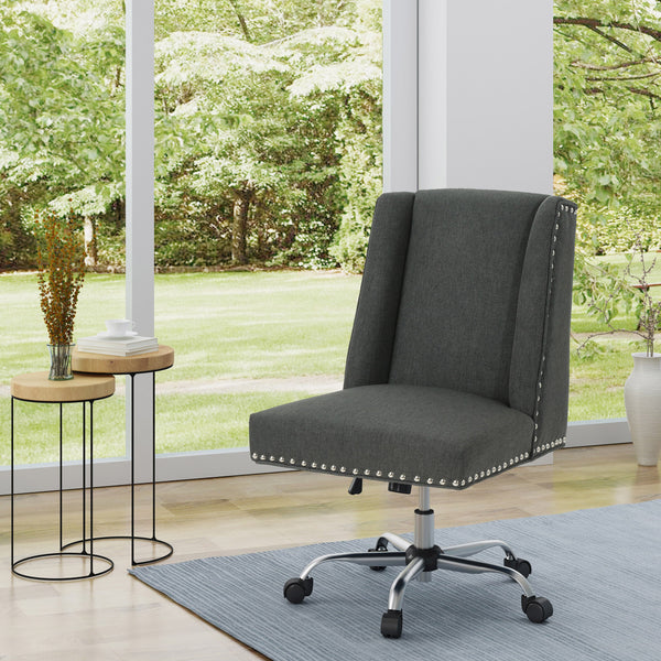 Home Office Fabric Desk Chair Nh458403 Noble House Furniture